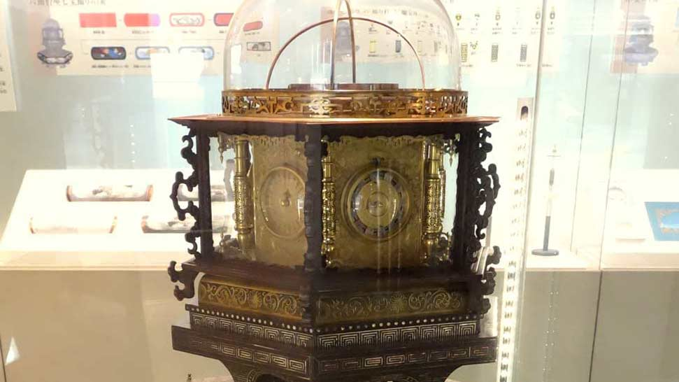 The masterpiece of wa-dokei engineering, the Ten Thousand-Year Clock
